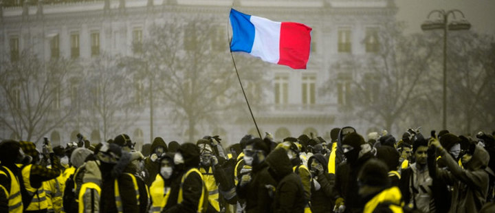 France: protests invade the country