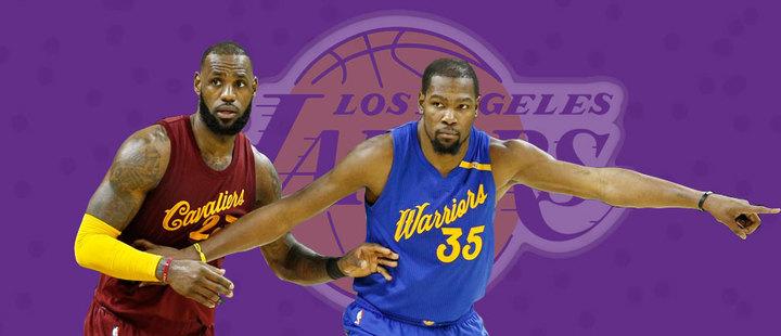 ¿Será posible ver a LeBron James y Kevin Durant en los Lakers 2019?