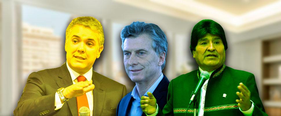 ¿Cómo terminan el año estos 3 presidentes latinos?