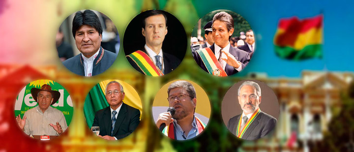 Who are the presidential candidates in Bolivia for 2019?