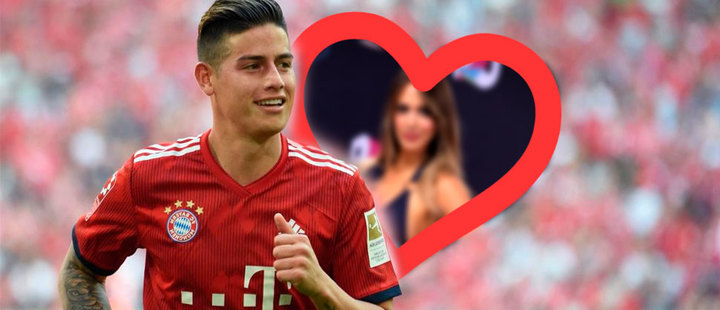 Conoce a la novia de James