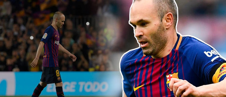 """I need help, I need something because if not, I do not get out of this situation"": Andrés Iniesta"