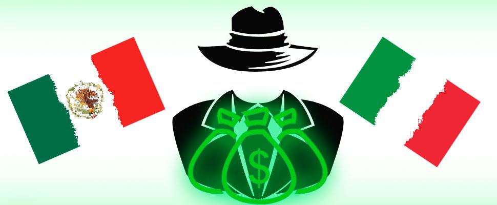 Economía criminal: Carteles mexicanos VS. Mafias italianas
