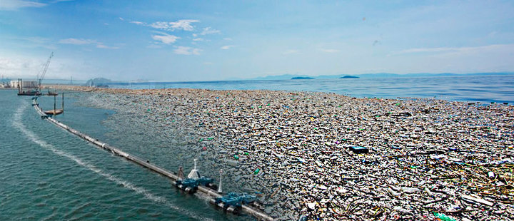 Estos son los obstáculos para limpiar la gran isla de basura del pacífico