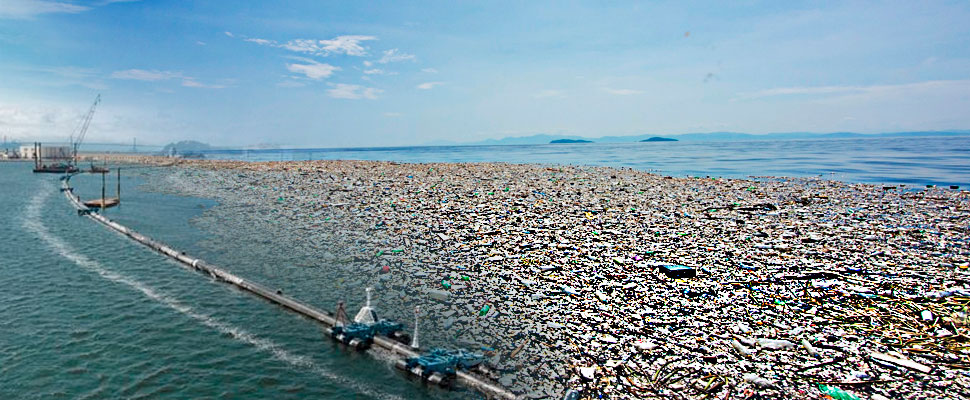 What are the obstacles to clean the great Pacific garbage patch?