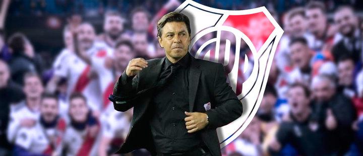 Marcelo Gallardo: éxitoso desde el banquillo