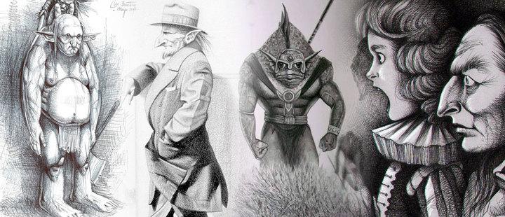 Maximiliano Baratero: el argentino que dibuja criaturas fantásticas