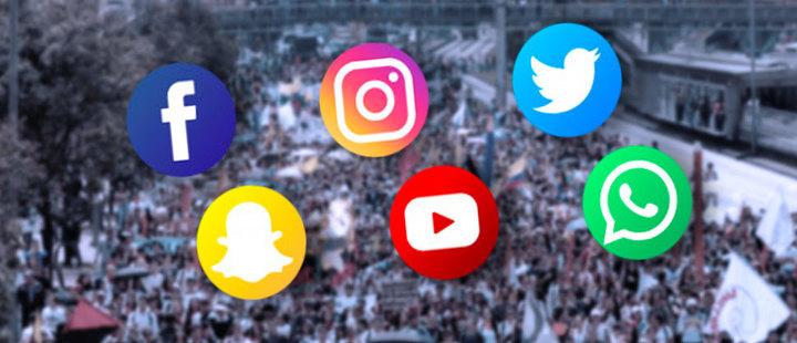 Redes sociales: el aliado para las protestas en Francia y Colombia