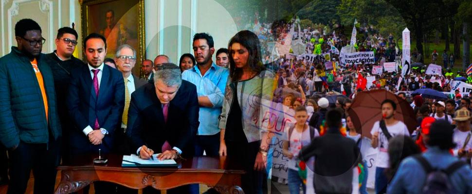 ¿Que resultó de los 66 días de paro estudiantil en Colombia?