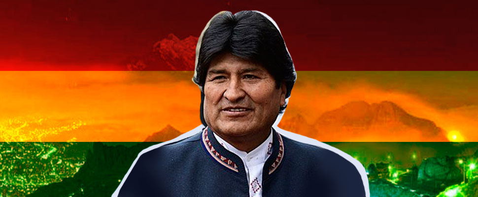 Evo Morales: eager for power