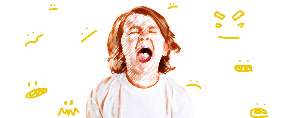 My son has tantrums, what should I do?