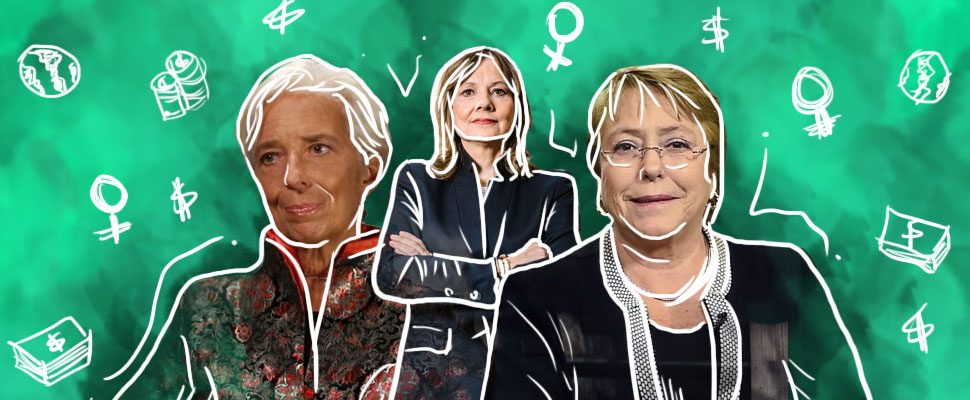 7 of the most powerful women in the world's economy