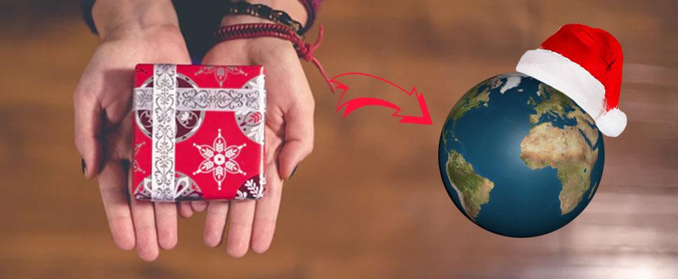 ¿Qué le puedes regalar al planeta en estas fiestas?