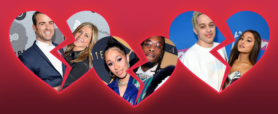 The love is over! 5 break-ups that surprised us this year