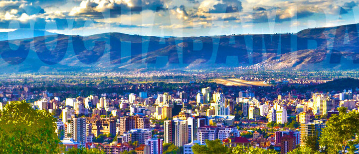 Cochabamba on the map