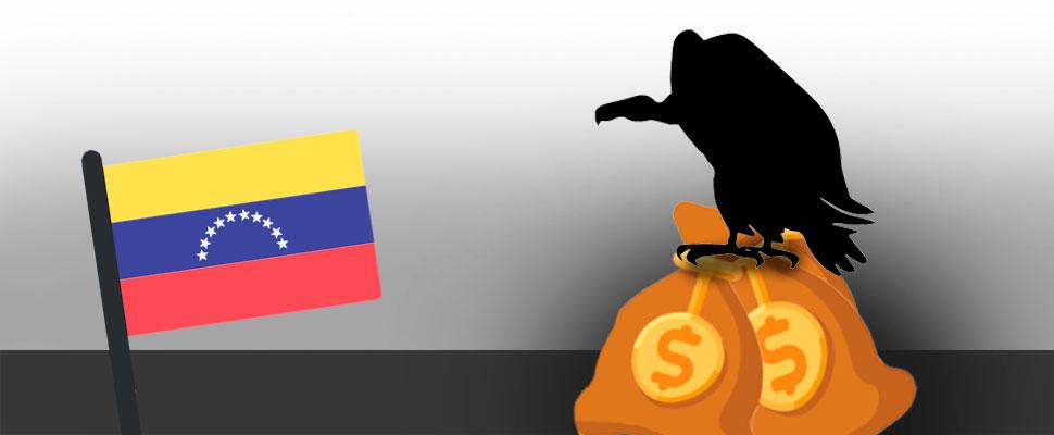 La extraña razón por la que no han llegado los fondos buitres a Venezuela