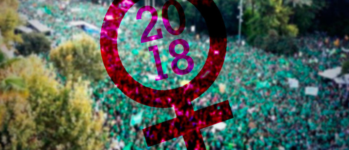 How does 2018 end for women in Latinamerica?