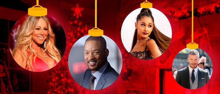 6 celebraciones navideñas de las celebridades