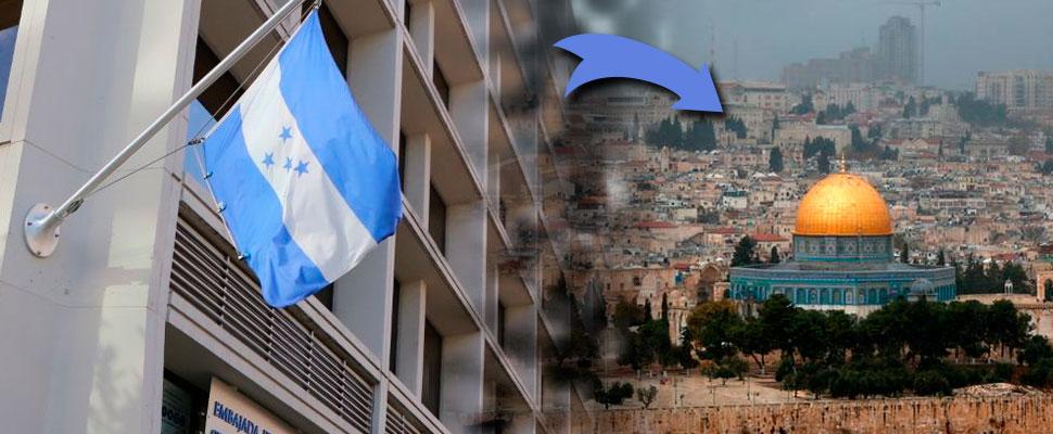 The new Honduran Embassy would be in Jerusalem