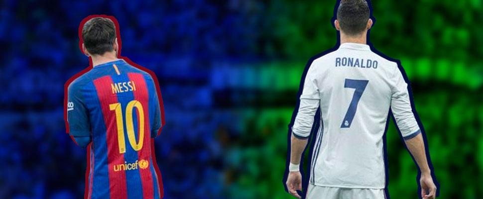 El polémico debate entre CR7 y Lionel Messi