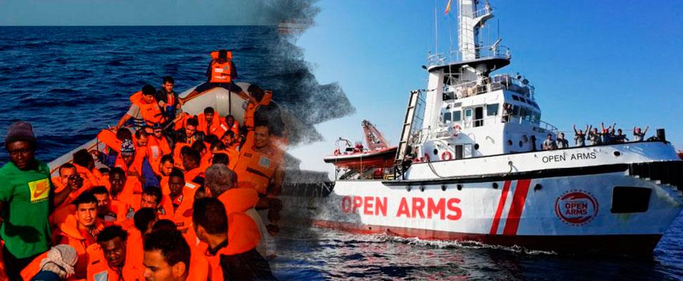Llegan 300 inmigrantes rescatados a España