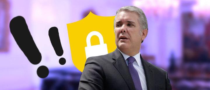 Colombia, en alerta por posible atentado al presidente