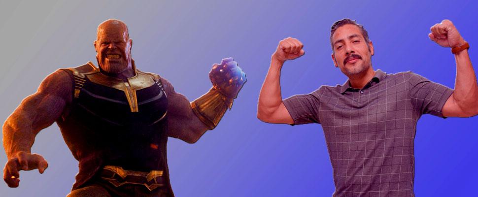Juan Carlos Tinoco: Thanos has a Colombian voice