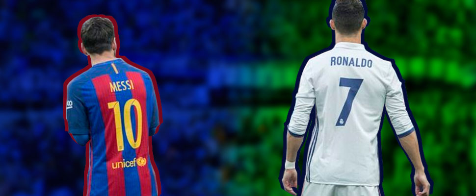 The heated debate between Cristiano Ronaldo and Lionel Messi