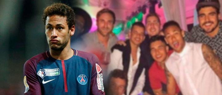 Neymar: el futbolista que logra tener un mes de vacaciones