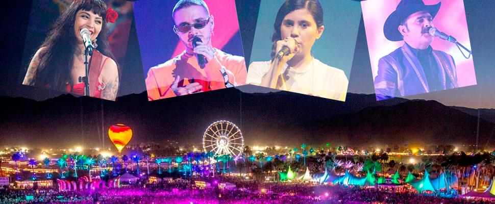Latinoamérica se toma Coachella 2019