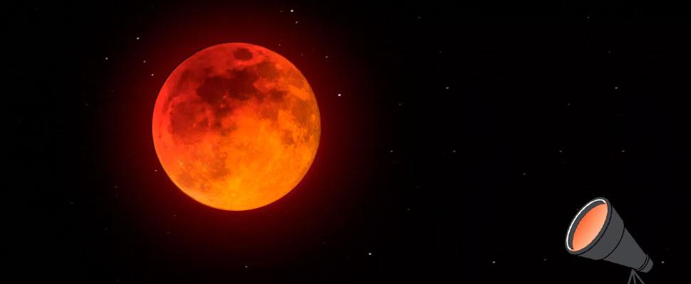 Todo lo que debes saber de la Súper Luna de Sangre