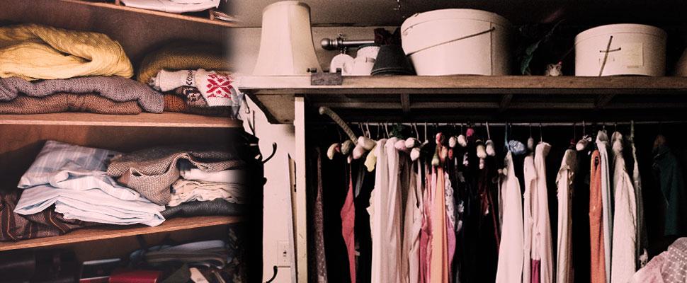 ¡A limpiar el closet!