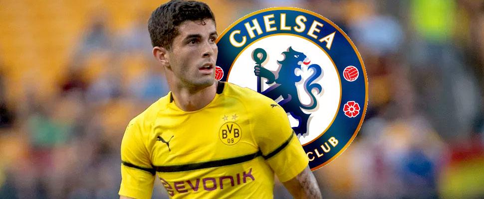 Christian Pulisic llega al Chelsea y planea triunfar