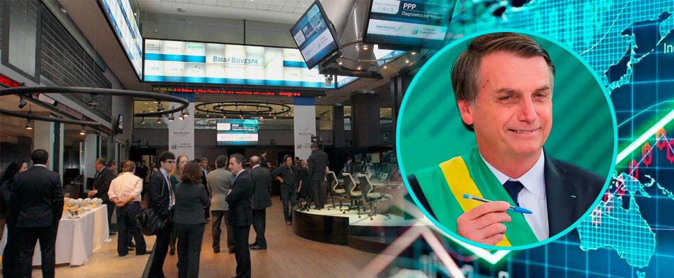 La llegada de Bolsonaro el da seguridad a Wall Street