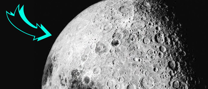 For the first time in history, the far side of the Moon was reached