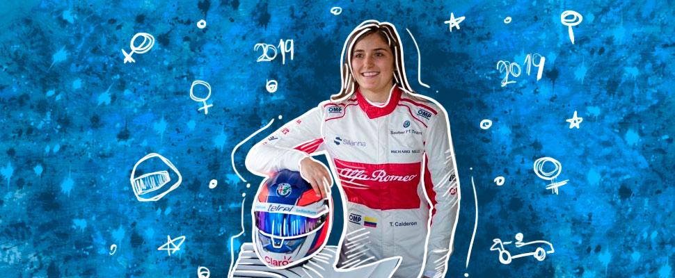 Tatiana Calderón: on her way to Formula 1