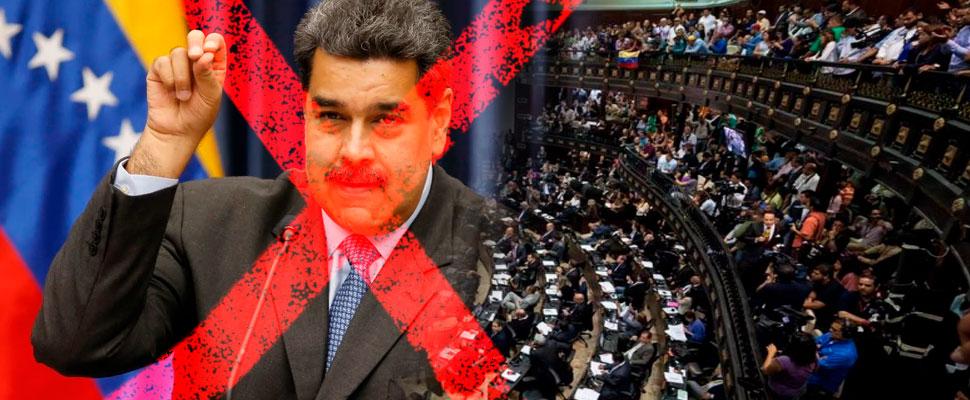Nicolás Maduro is declared illegitimate by the Venezuelan Parliament
