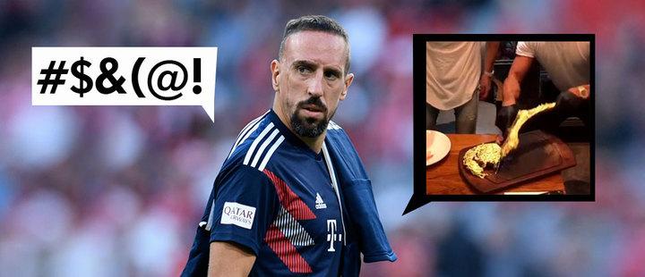 Ribéry es sancionado por comentarios insultantes en Twitter