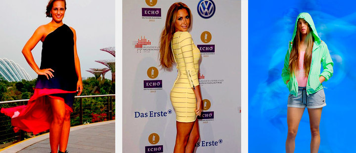 5 best dressed female Latin American athletes