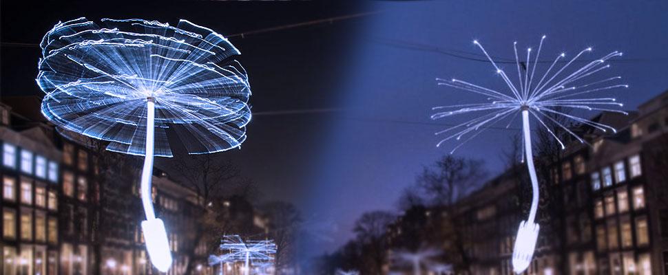 Un chileno se toma los canales de Amsterdam con su Arte
