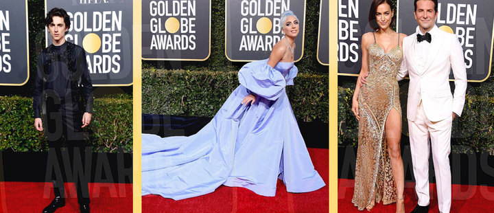 Golden Globes: the best looks of the first gala of the year