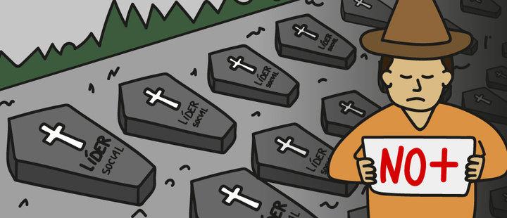 Asesinato masivo de líderes: ¿Cuántas muertes tienen que haber?