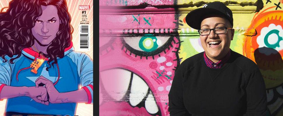 Gabby Rivera: la latina detrás de la súperheroina de Marvel Comics