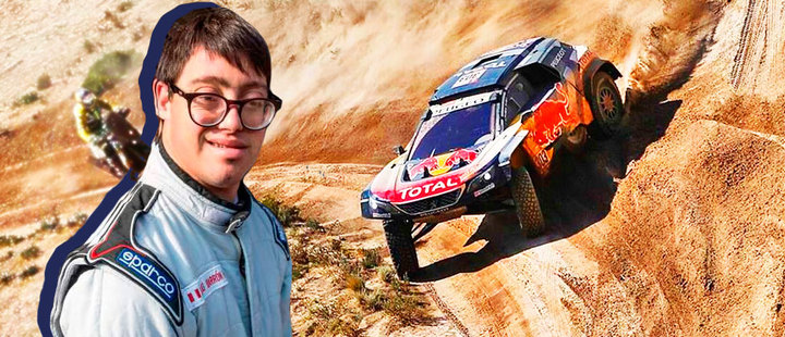 Unprecedented: a participant with Down syndrome in the Dakar Rally