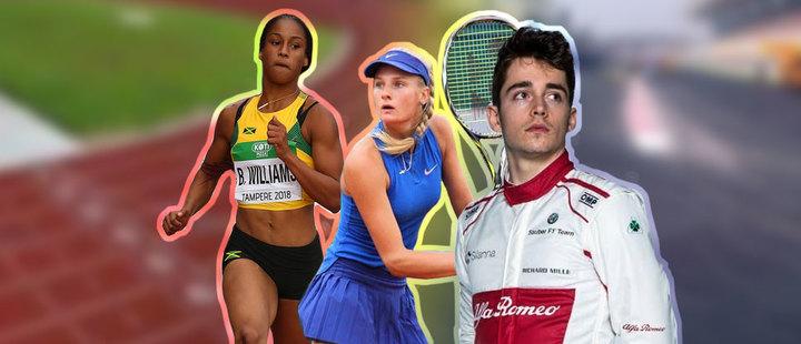 Estos 5 atletas buscan destacarse en el 2019