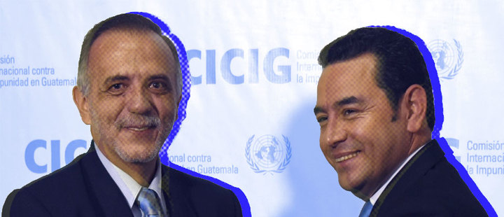 CICIG provokes a power struggle in Guatemala