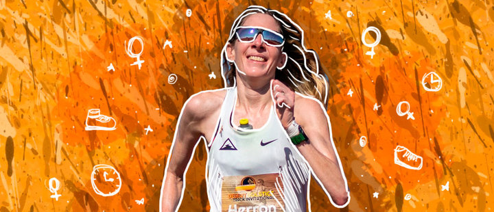 What a woman! Camille Herron made history in the ultramarathon