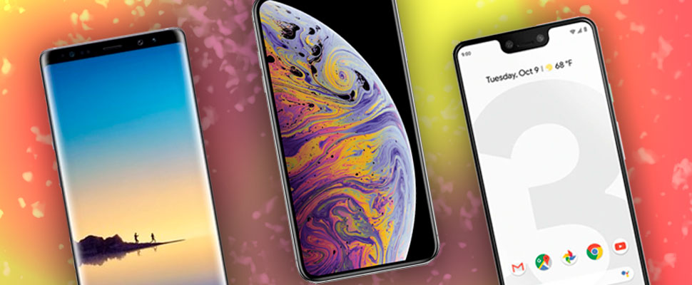 3 smartphones with the best screens on the market