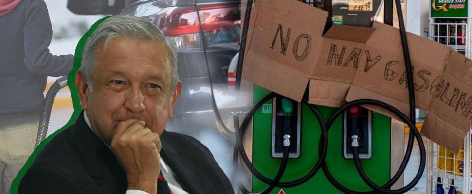 Gasoline: AMLO's first challenge