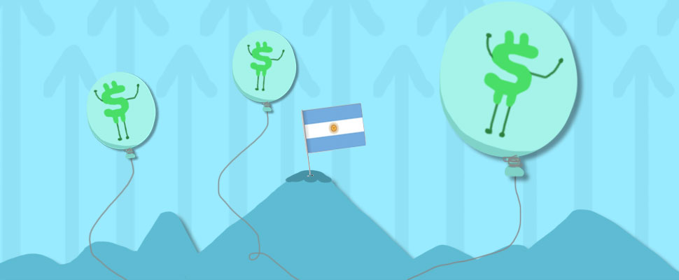 Inflation in Argentina reached a historic peak